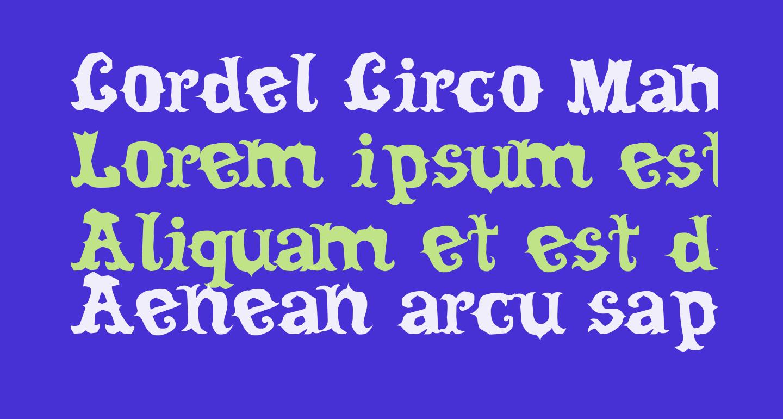 Cordel Circo Mambembe