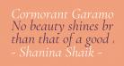 Cormorant Garamond Italic