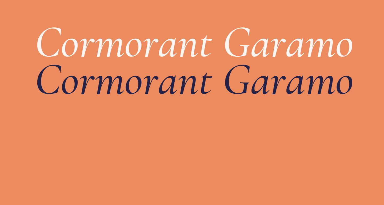 Cormorant Garamond Medium Italic