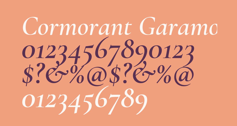 Cormorant Garamond SemiBold Italic