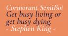 Cormorant SemiBold Italic
