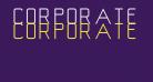 Corporate Gothic NBP Regular