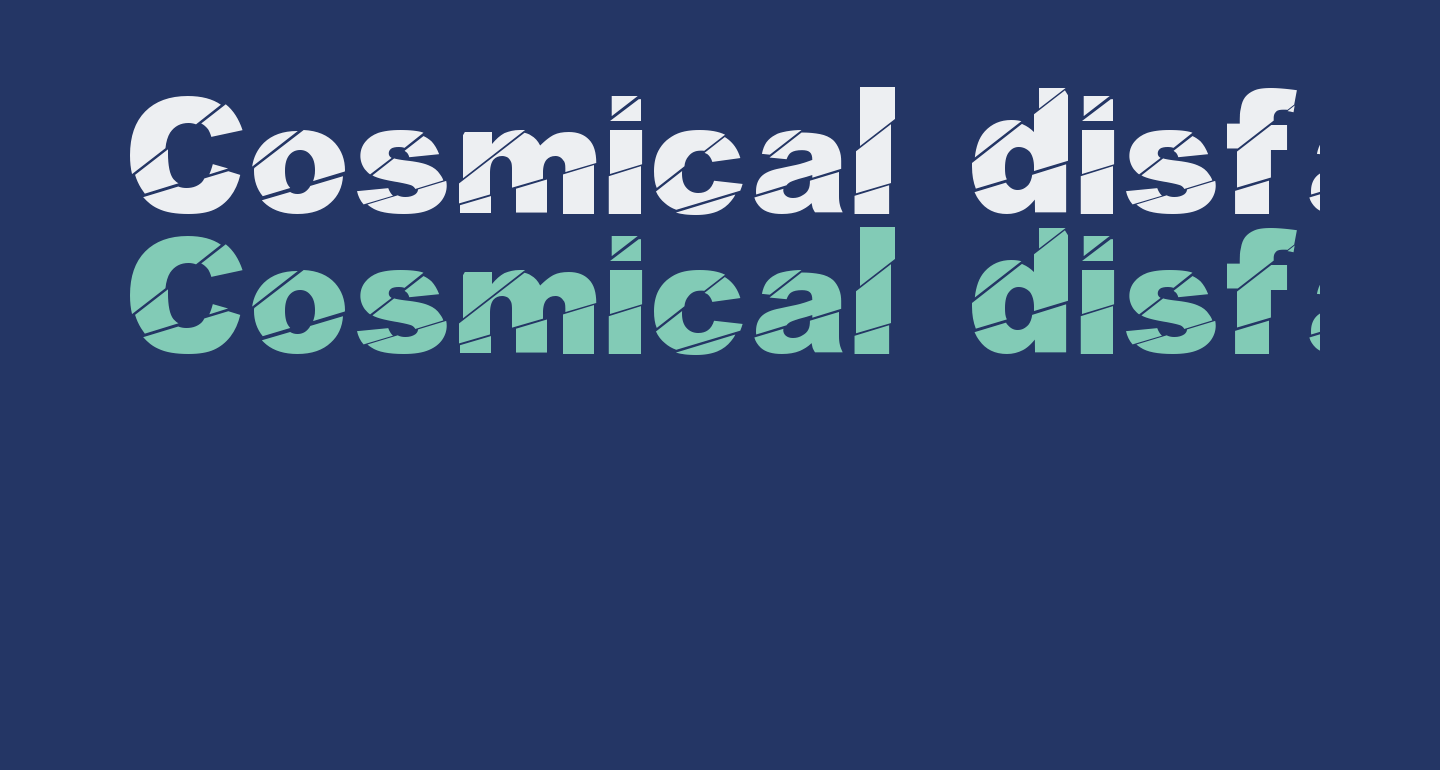 Cosmical disfase Cosmical disfase
