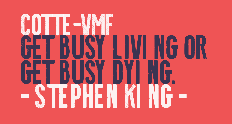 Cotte-VMF