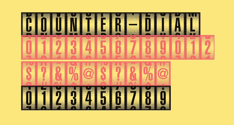 Counter-Dial