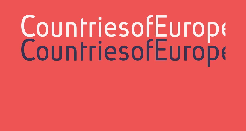 CountriesofEurope