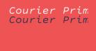 Courier Prime Sans Italic