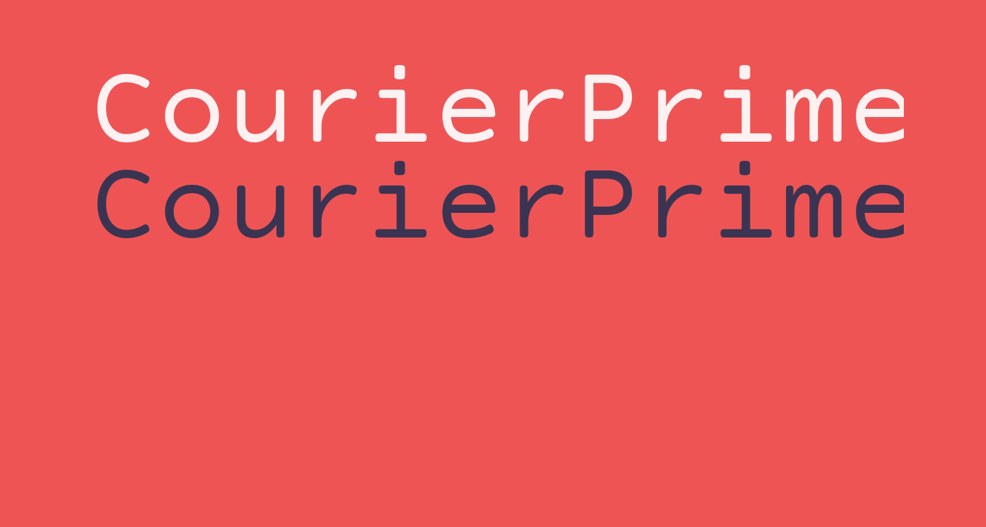 CourierPrimeCode-Regular