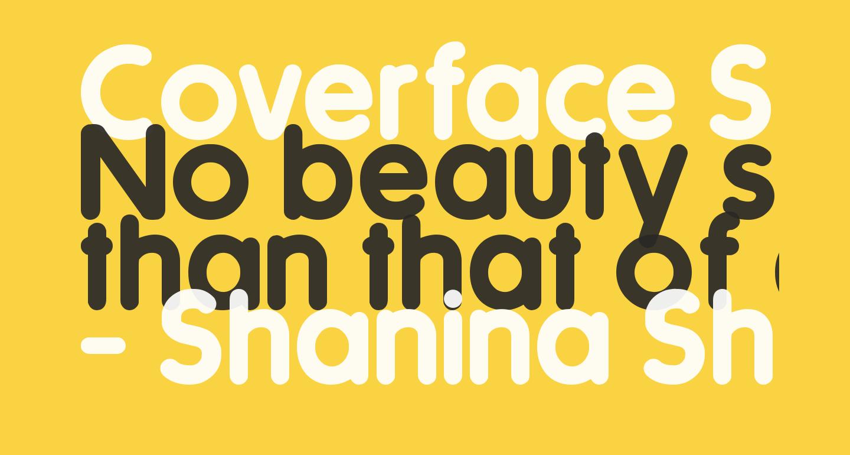 Coverface SE Bold