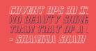 Covert Ops 3D Italic