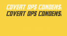 Covert Ops Condensed Italic
