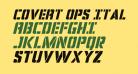 Covert Ops Italic