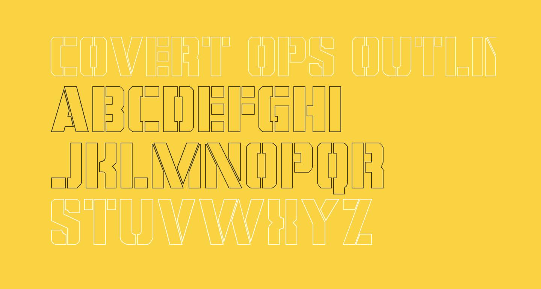 Covert Ops Outline Regular