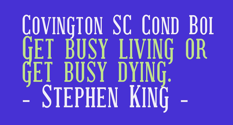 Covington SC Cond Bold