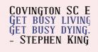Covington SC Exp Bold