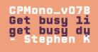CPMono_v07Black