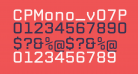 CPMono_v07Plain