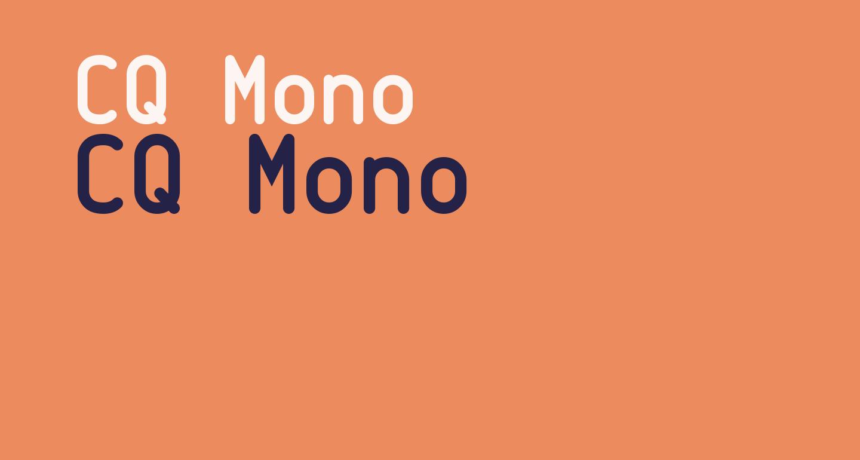 CQ Mono