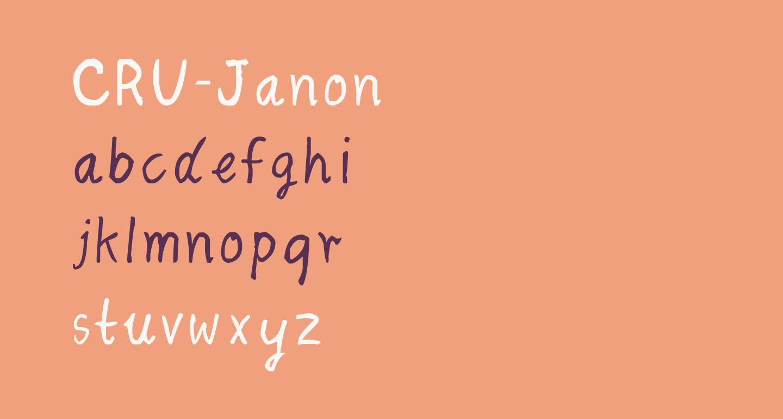 CRU-Janon