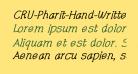 CRU-Pharit-Hand-Written v2 Bold Italic