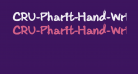 CRU-Pharit-Hand-WrittenBold