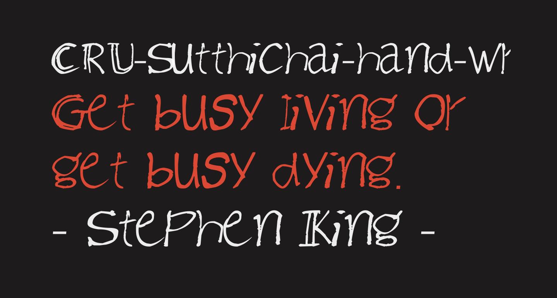 CRU-Sutthichai-hand-writen