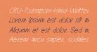 CRU-Todsaporn-Hand-Written-Italic
