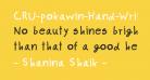 CRU-pokawin-Hand-Written