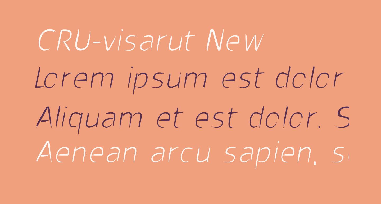 CRU-visarut New