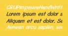 CRUPimpaveeHandWritten2BoldItalic