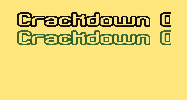 Crackdown O1 BRK