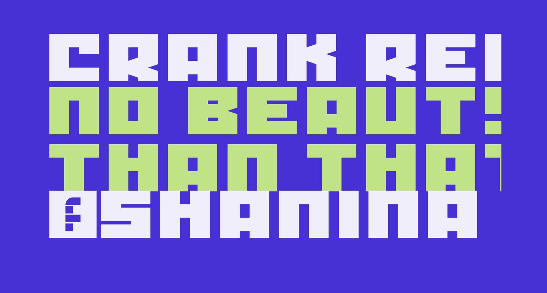 Crank Regular