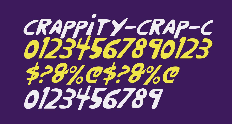 Crappity-Crap-Crap CondItal