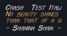 Crash  Test Italic