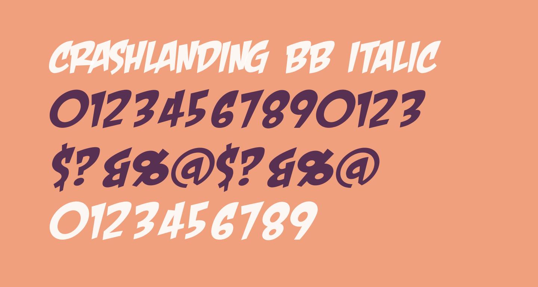 CrashLanding BB Italic