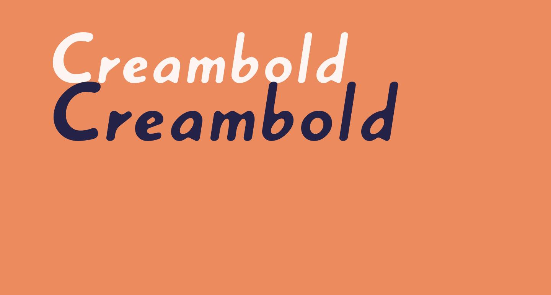 Creambold
