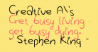 Creative A's