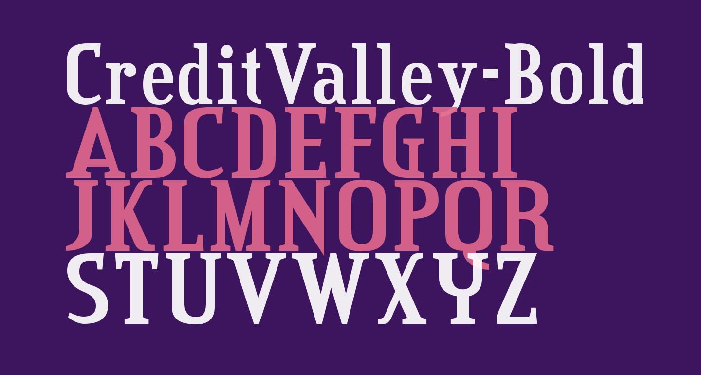 CreditValley-Bold
