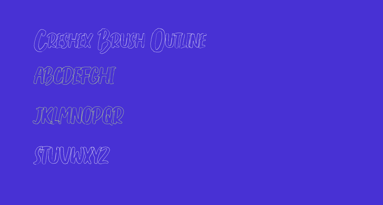 Creshex Brush Outline