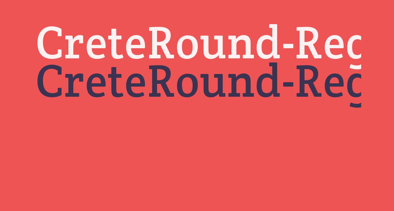CreteRound-Regular