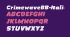 CrimewaveBB-Italic