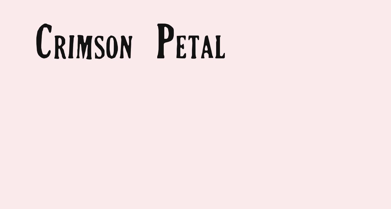 Crimson Petal