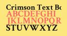 Crimson Text Bold
