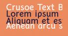 Crusoe Text Bold