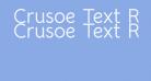 Crusoe Text Regular
