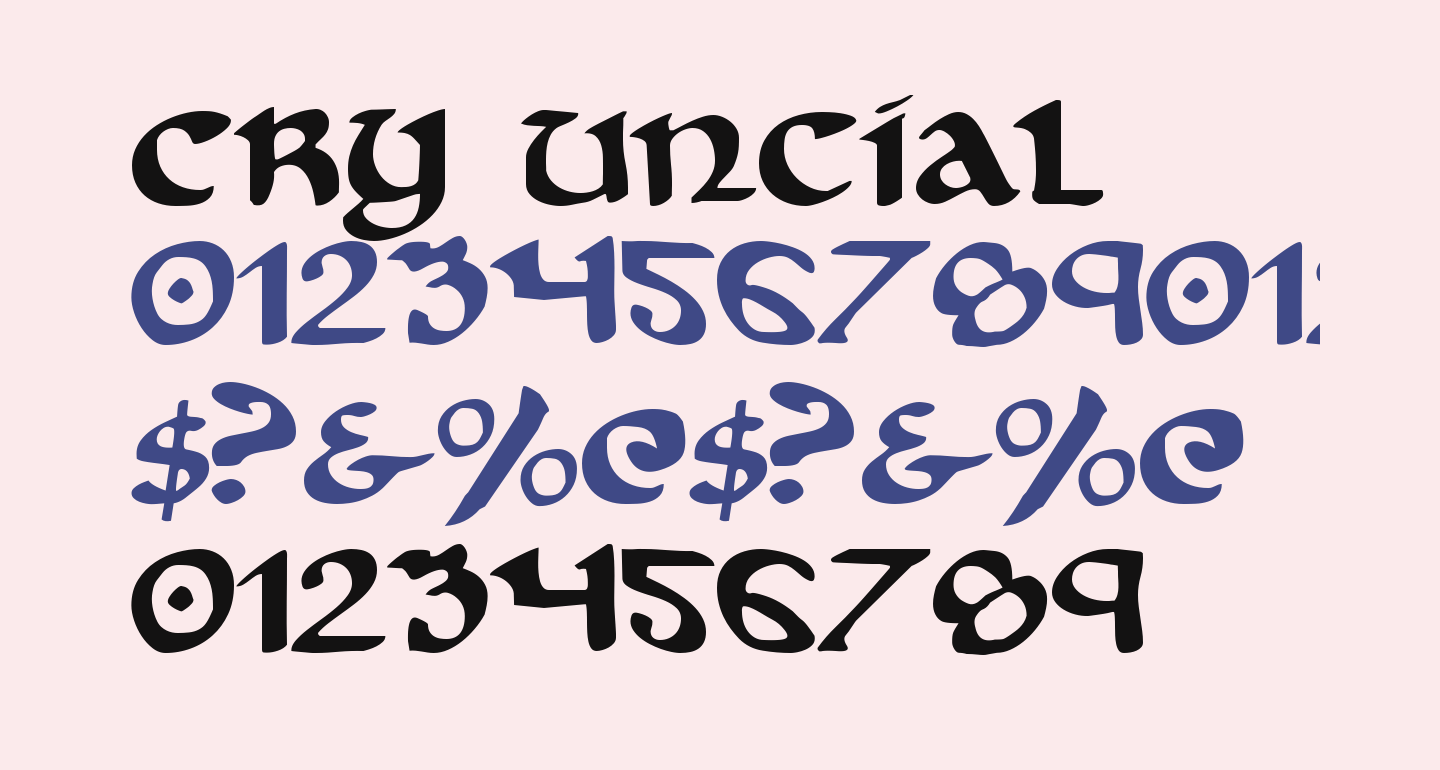 Cry Uncial