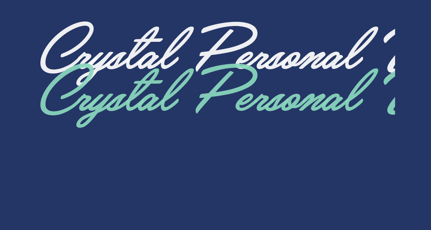 Crystal Personal Use
