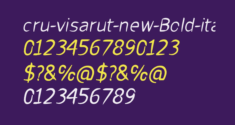 cru-visarut-new-Bold-italic