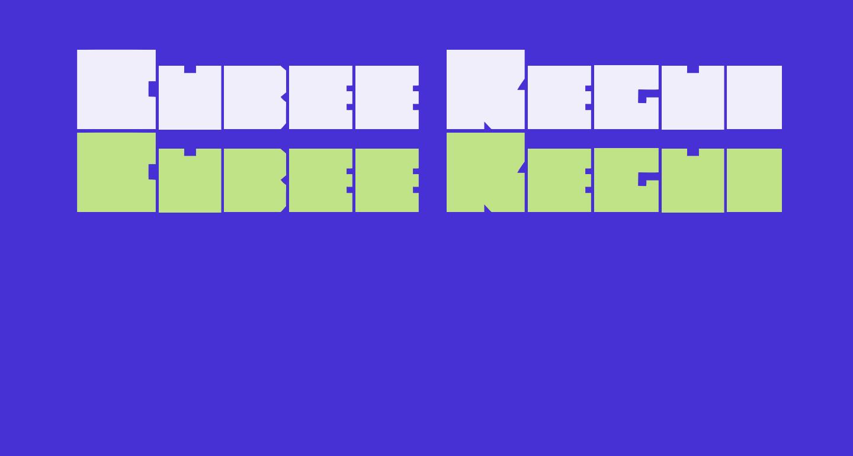 Cubee Regular