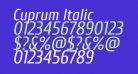 Cuprum Italic